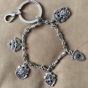 Brighton Key Chain Charm Bracelet